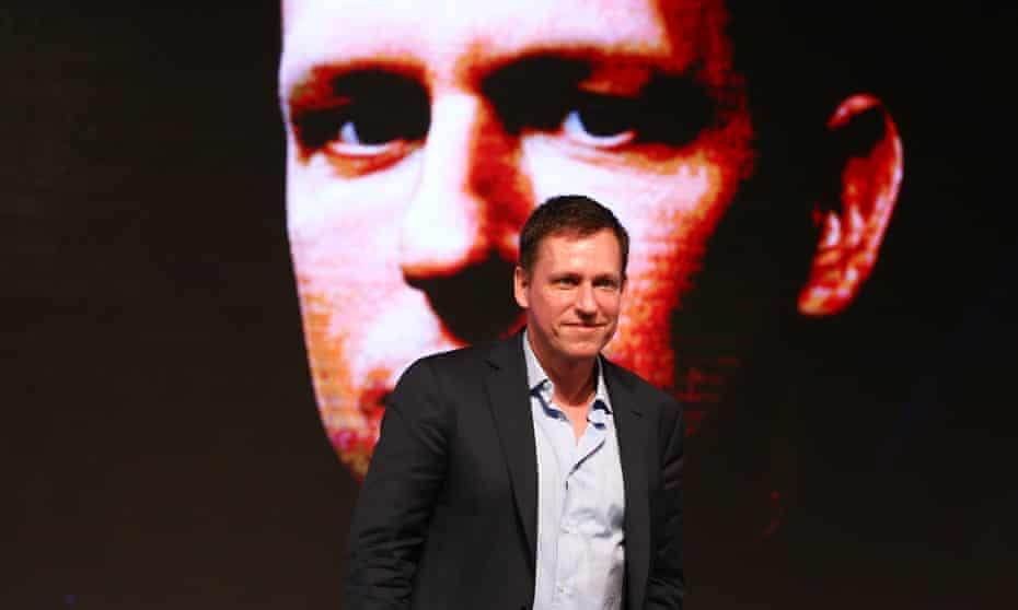 'Men like Thiel are far more powerful than most politicians and often possessed of more chillingly questionable views.'