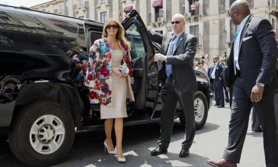 Melania's public addresses have been rare and her statements so carefully curated she has been dubbed 'the Instagram first lady.'