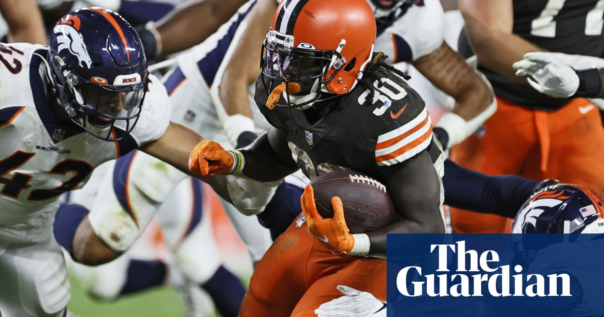 Banged-up Cleveland Browns hold off Broncos behind steady Case Keenum