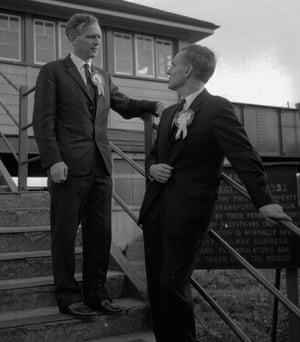 The McWhirters as Conservative candidates in October 1964. Photograph: Topham/Express/Getty Images