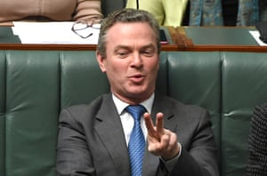The minister for defence industry and leader of the House, Christopher Pyne