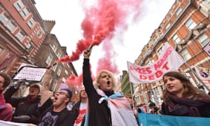 Free education protest, London, UK