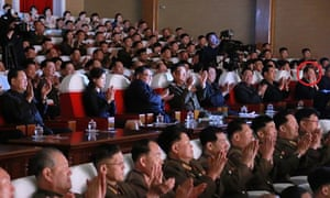 The top North Korean official Kim Yong-chol appeared in public alongside Kim Jong-un at a musical performance.