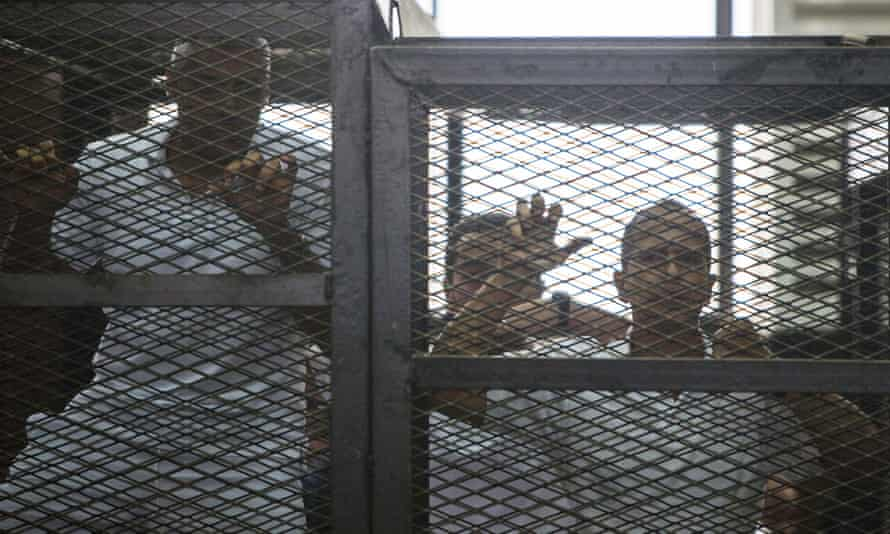 The high-profile case against three al-Jazeera journalists shed light on Egypt's treatment of reporters.