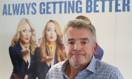 Ryanair boss Michael O'Leary. The airline does not recognise trade unions.