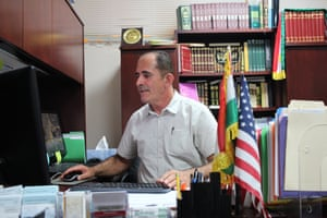 Nawzad Hawrami, the director of the Salahadeen Center, says Kurds like him have found freedom in Nashville.