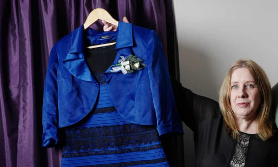 Cecilia Bleasdale, the owner of the dress which sparked a million tweets.