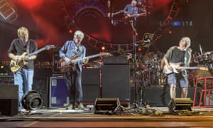 Back from beyond: Trey Anastasio, Phil Lesh and Bob Weir
