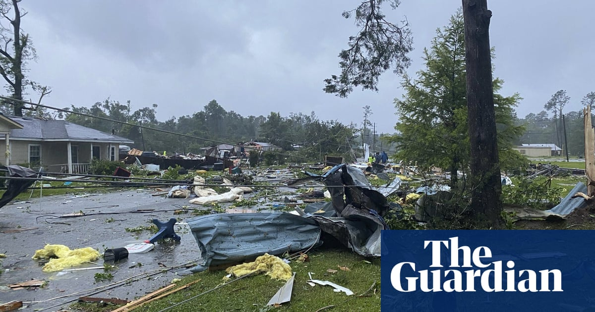 Tropical storm Claudette: life-threatening flash flooding rises across US south-east