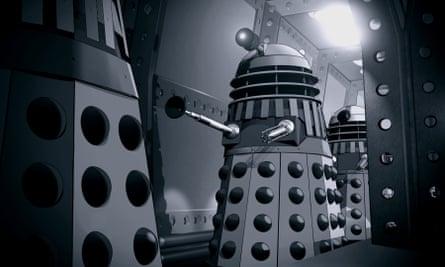 Animated Daleks