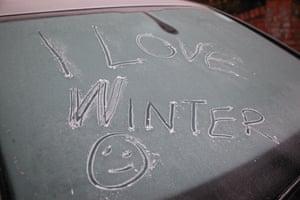 London, UK Happy for some.... seasonal frosty weather