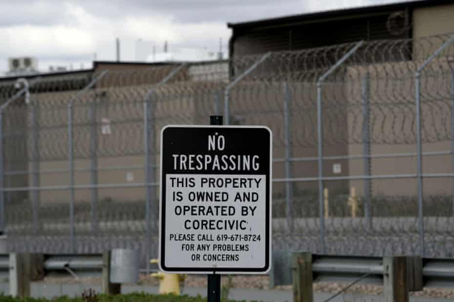 Maura Martinez is housed at Otay Mesa detention center in San Diego.