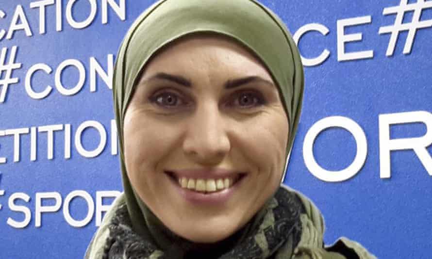 Amina Okuyeva was an uncompromising critic of Russia and the Kremlin-backed regime of Ramzan Kadyrov.