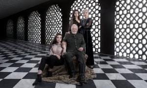 King Lear: Anthony Hopkins with (from left) Florence Pugh, Emily Watson and Emma Thompson