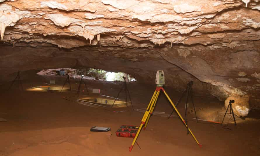 Boodie cave, Barrow Island