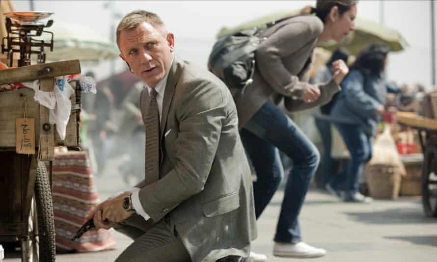 Big time … Daniel Craig as James Bond in 2012's Skyfall.