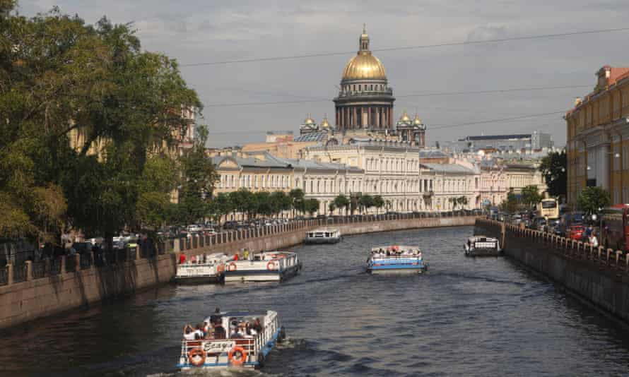 St Petersburg's layout includes many astoundingly long lines of sight.