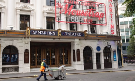 St Martin's theatre has hosted The Mousetrap since 1974.