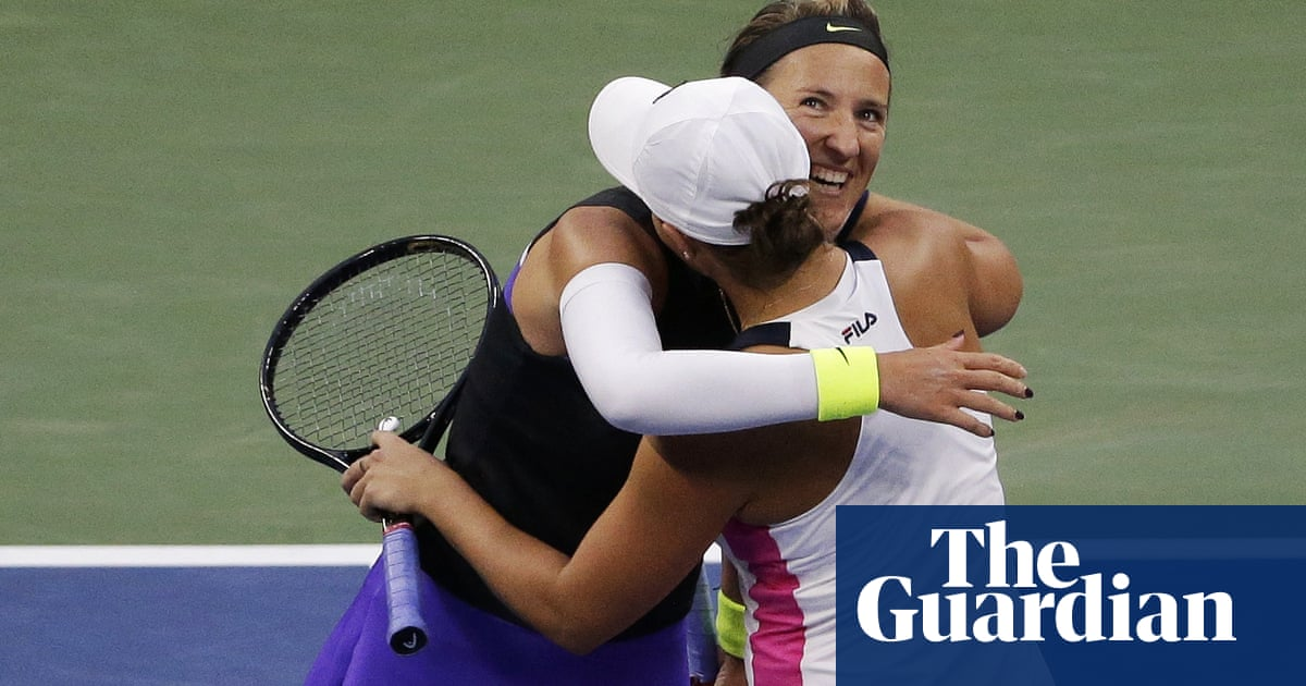 Ash Barty moves to within one win of back-to-back US Open doubles titles