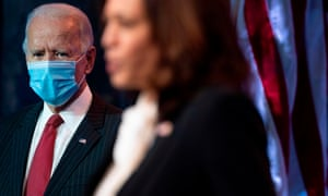 Joe Biden and Kamala Harris in Delaware this week.