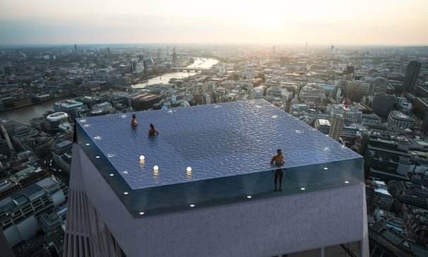 The skyscraper infinity pool – sorry, but where's the diving board? | Architecture | The Guardian