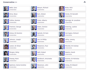 30 Tories who voted for Letwin amendment