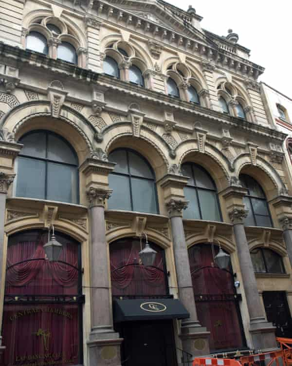 Central Chambers club in Bristol.