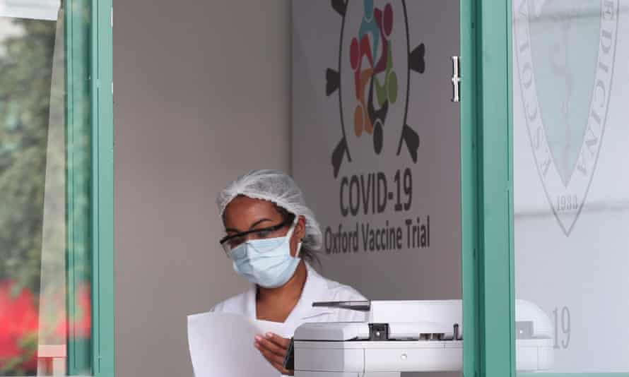 Trials of the Oxford/AstraZeneca vaccine are being conducted in São Paulo, Brazil.