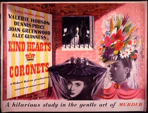 Posters promoting Ealing Studios films were salvaged from the rubbish dump.