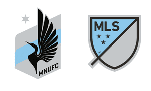 Minnesota United's badge for next season.