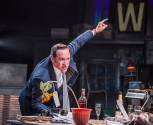 'His main means of expression are his hands': Bertie Carvel as Rupert Murdoch in Ink.