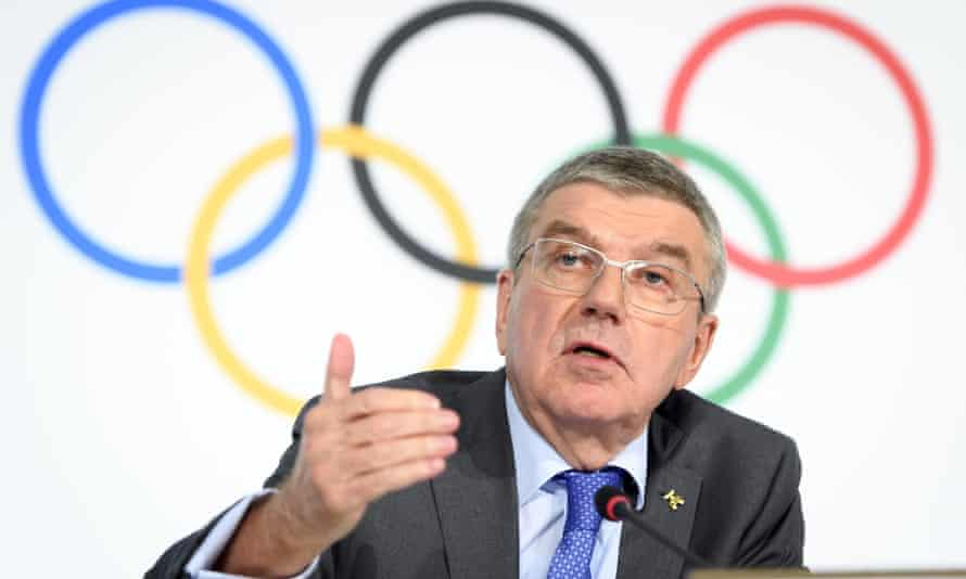 Thomas Bach says politics must be kept at arm's length or 'the Games will descend into a marketplace of demonstrations of all kinds'.