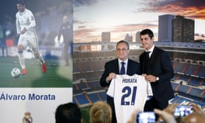 Alvaro Morata has rejoined Real Madrid