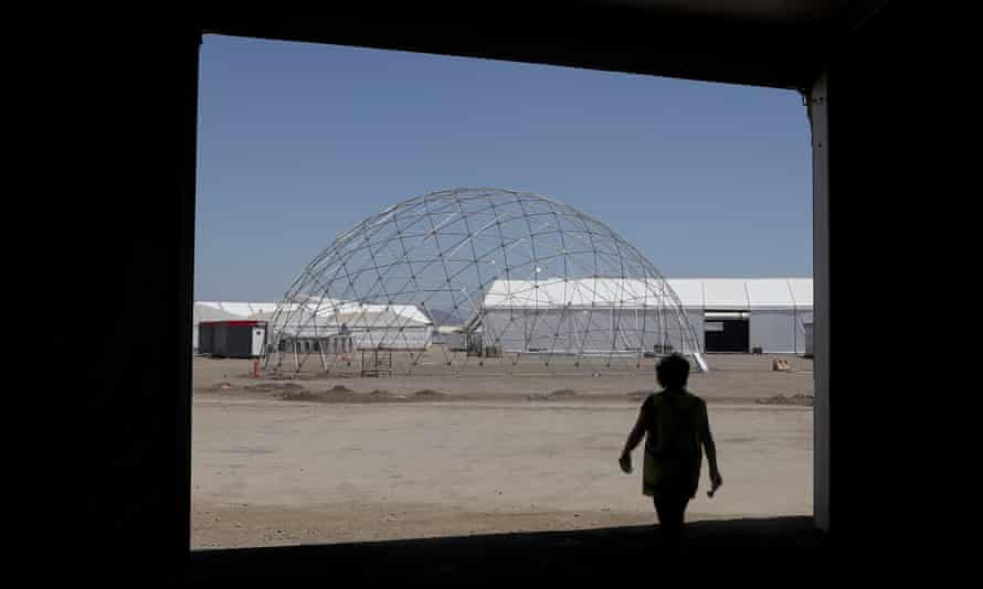 The Santiago venue for the COP25 summit, which was cancelled because of unrest in Chile.