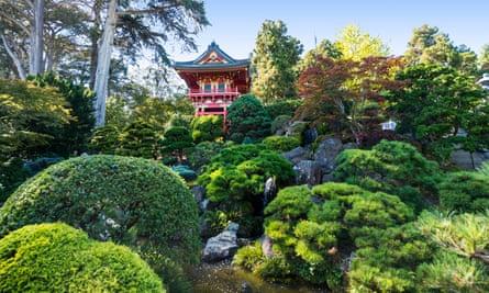 The Japanese Tea Garden in San Francisco, California.