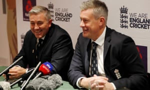 England's new head coach Chris Silverwood (left) and and the managing director of men's cricket, Ashley Giles, are clear what they want the teams to achieve in the coming cycle.