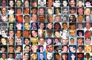 The Hillsborough victims.