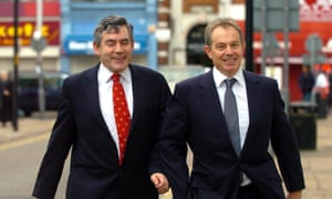 Gordon Brown and Tony Blair, pictured in 2005.