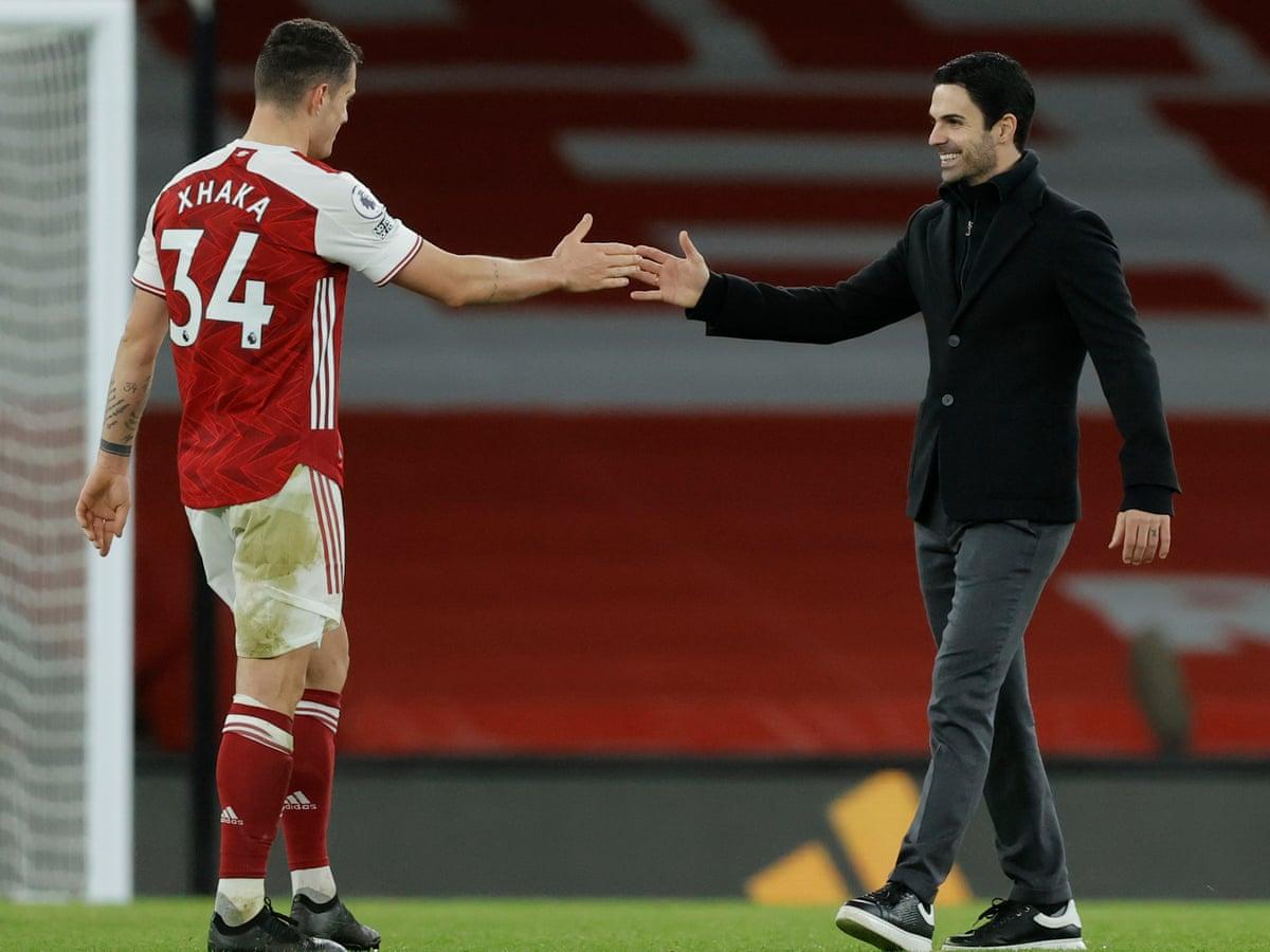 Granit Xhaka is a key member of Arsenal: Mikel Artreta