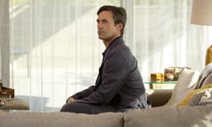 'There are scenes of remarkable insight for those willing to look past the unashamed staginess' ... Jon Hamm in Marjorie Prime.