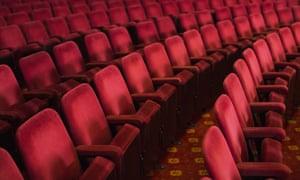 Empty seats in theatre auditorium