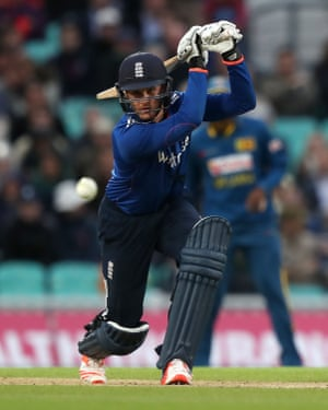 Jason Roy hits out.