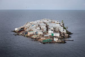 Half the size of a football pitch, Migingo Island on Lake Victoria is claimed by both Kenya and Uganda. The population of 131 is made up of mostly fishermen and traders.
