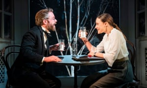 Rory Keenan and Mariah Gale in Afterplay