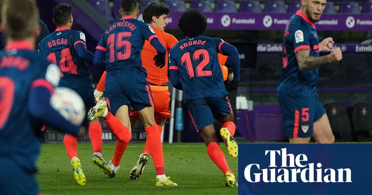 'Strikers are lucky': Bono tastes goal-scorer's euphoria and saves Sevilla