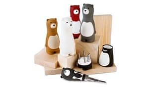 Bear screwdrivers, £14.99firebox.com