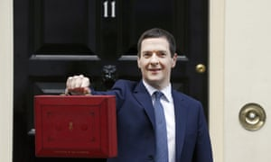 George Osborne with his 2016 budget: 'What May and her ministers are left pushing is continuity-Osborne. The same Osborne, you'll remember, whose economics proved so unpopular they fed the public rage that produced Brexit.'