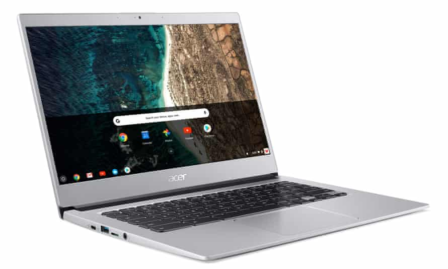 Acer's Chromebook 514 has long been popular, with its 14in screen and aluminium body.
