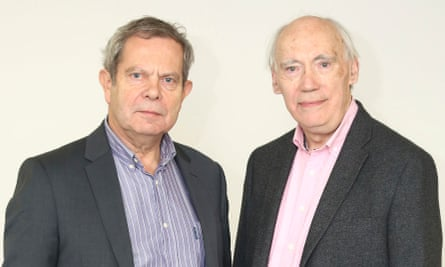 Professor Richard Morris and Professor Tim Bliss, two of the three British scientists who have been awarded the Brain Prize.