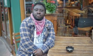 Student Luqman Onikosi, whose request to remain in the UK for medical treatment was refused by the Home Office.